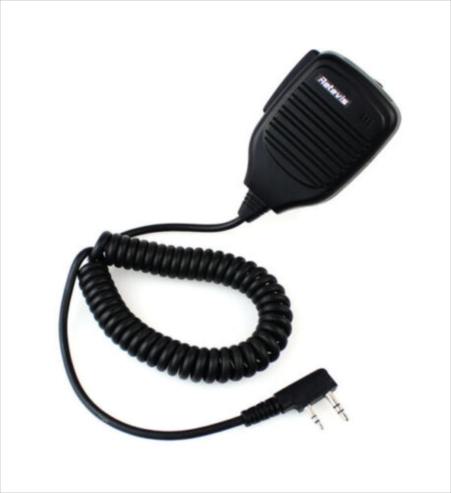 Kenwood 2-PIN Remote Speaker Microphone for Two-Way Radios